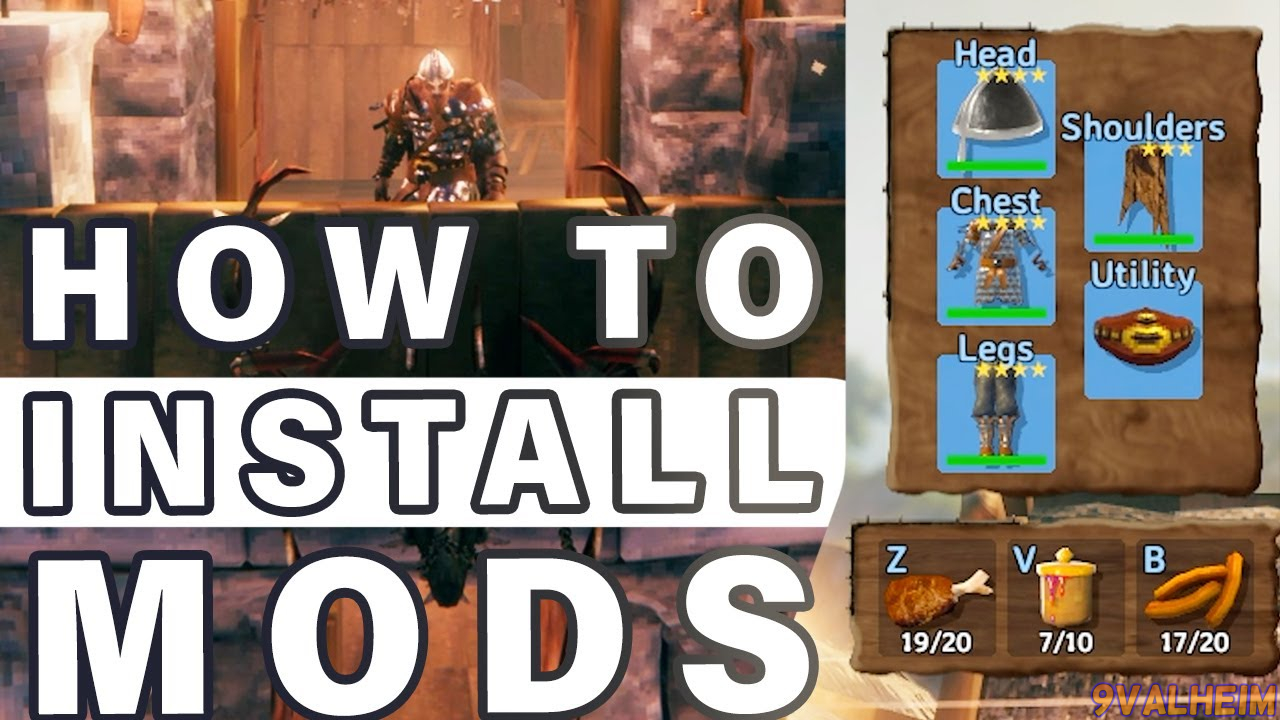 Install Valheim mods for better playing experiences.  Source: