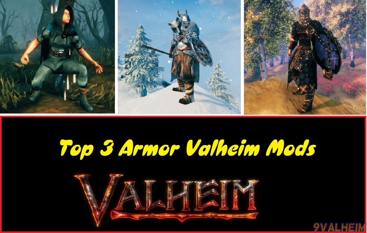 Top 3 Armor Valheim
